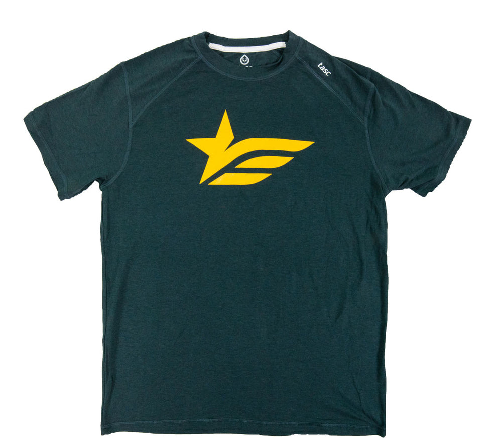 Gunmetal Gray I Build America Gold Star T-Shirt