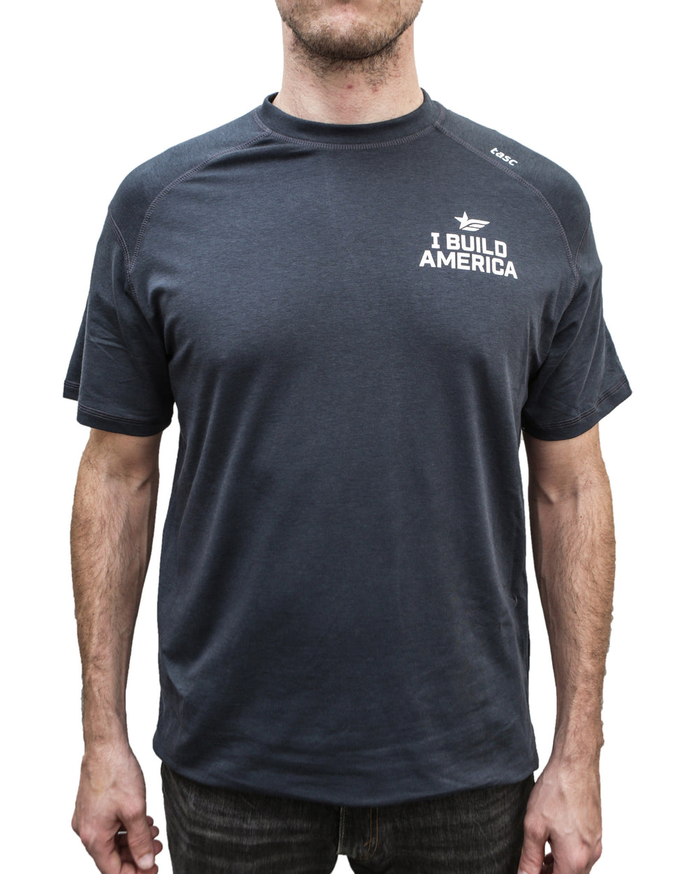 Gunmetal Gray I Build America T-Shirt