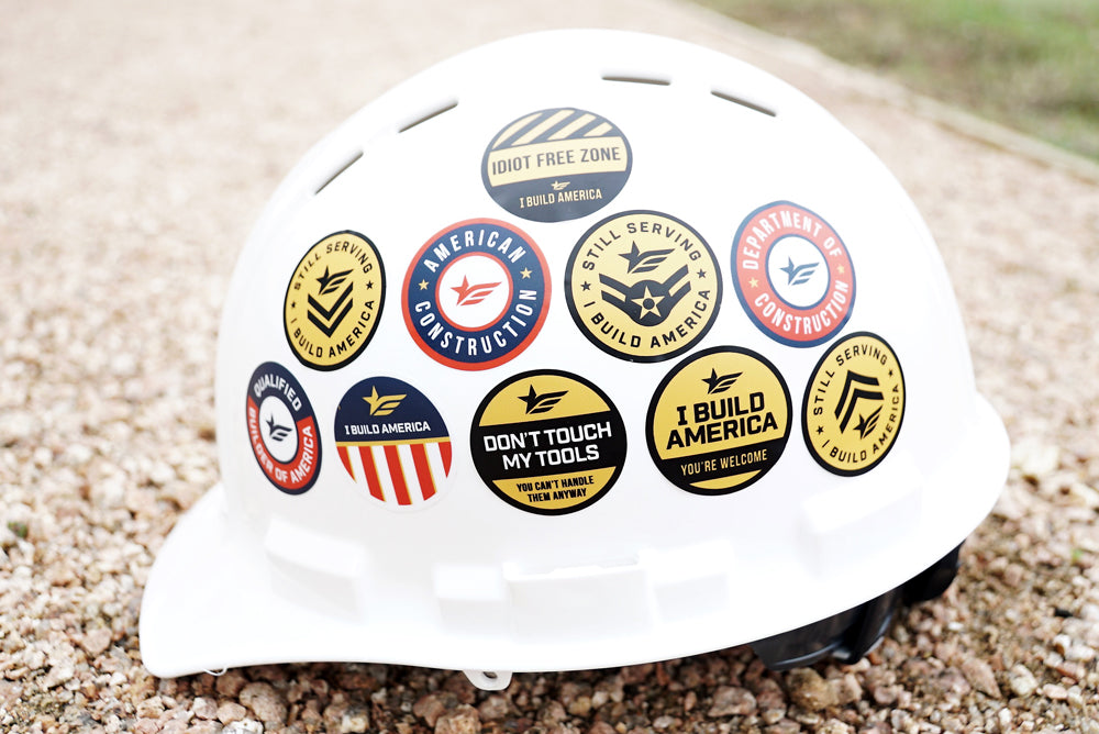 Hard Hat Sticker | Don't Touch My Tools