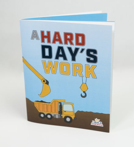 I Build America Children's Book - A Hard Day's Work - 5 Pack