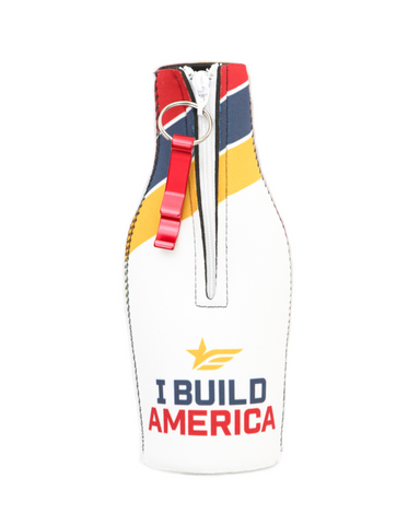 Neoprene I Build America Bottle Suit w/ Opener