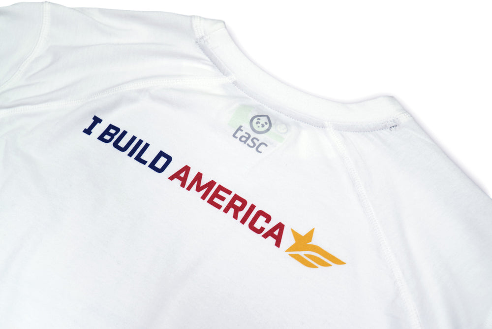 White I Build America Bridge T-Shirt