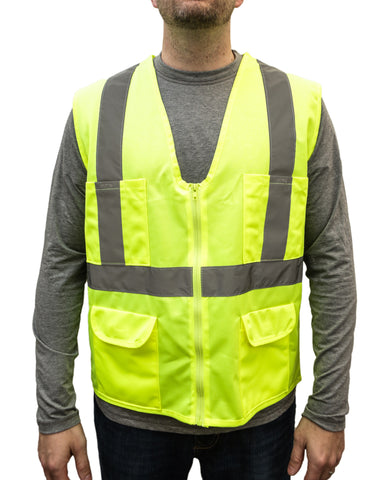 I Build America ANSI Certified Class 2 Safety Vest