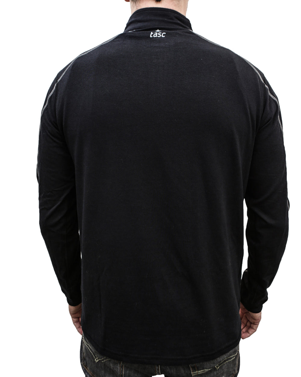 Black Core 1/4 Zip I Build America Jacket