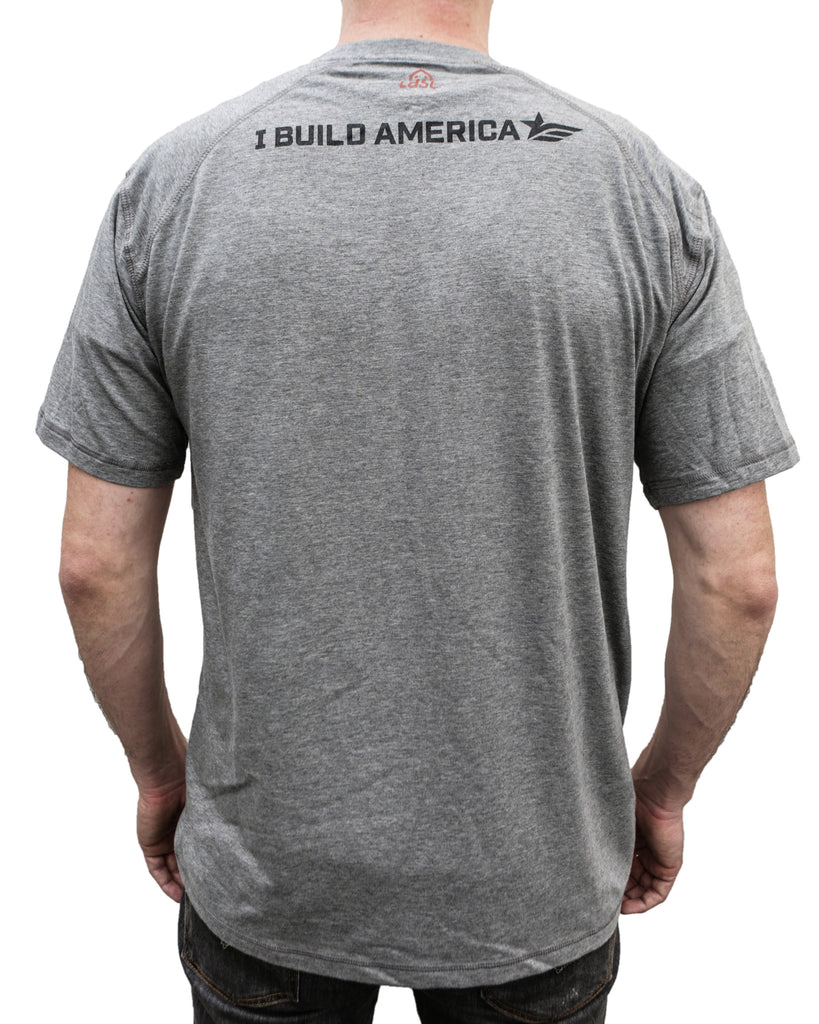 Heather Gray Construction T-Shirt