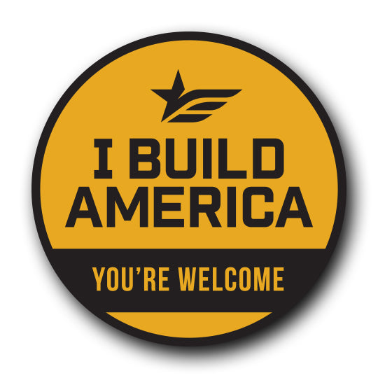 Hard Hat Sticker | You're Welcome