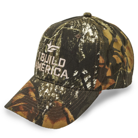 Mossy Oak Camo I Build America Hat