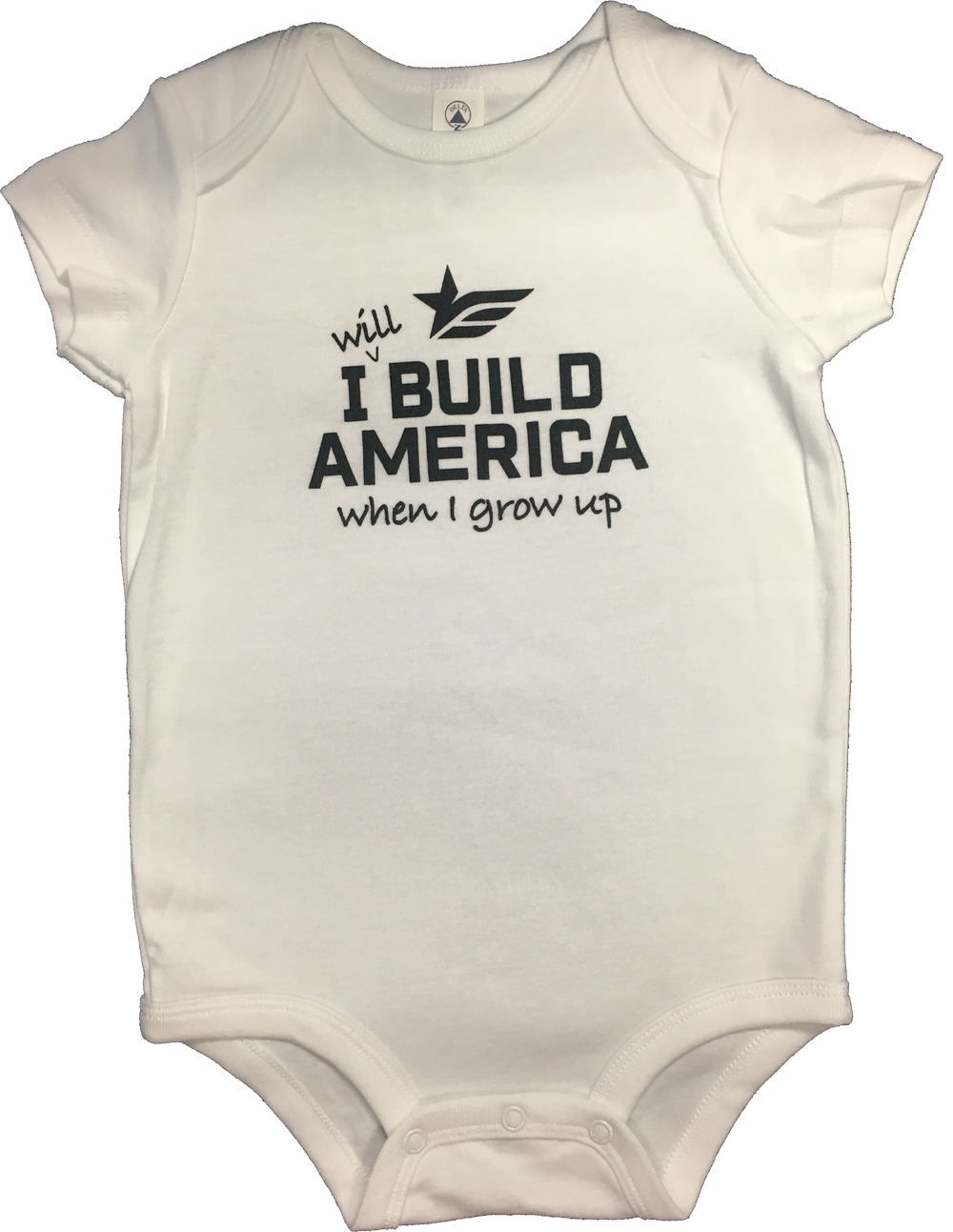 White Infant Cotton Onesie