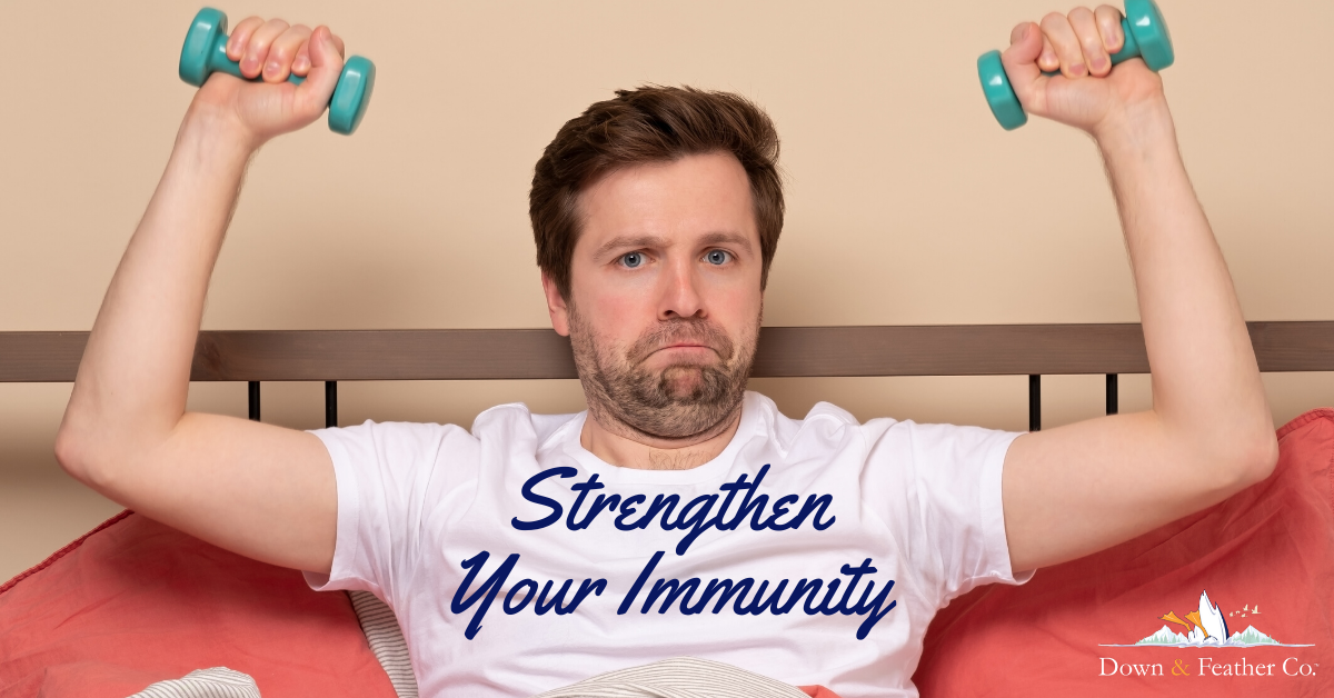 Sleeping Strengthens Immunity