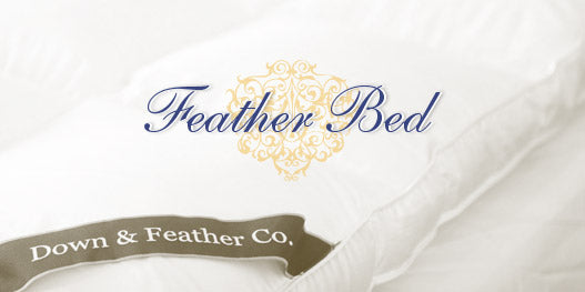 Have you ever wondered what dreams are made of? The ultimate in luxury. We removed all the feathers that might poke you leaving behind only Hungarian white goose down. Down & Feather Co. woven corner sash is your assurance it's from us.