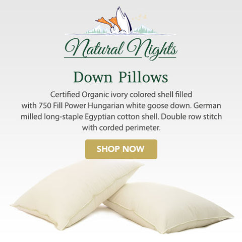the finest down pillows