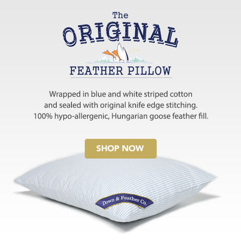the original feather pillow