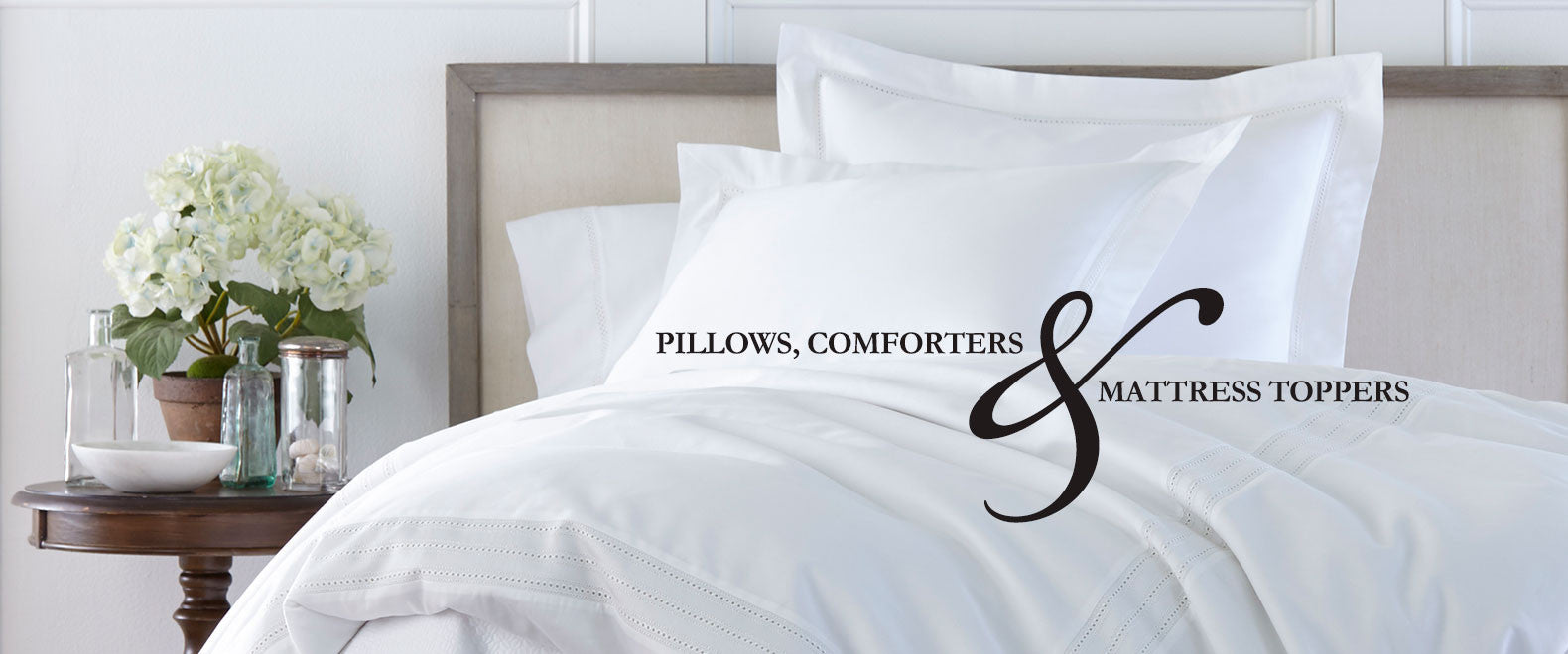 the best pillows, comforters and feather beds