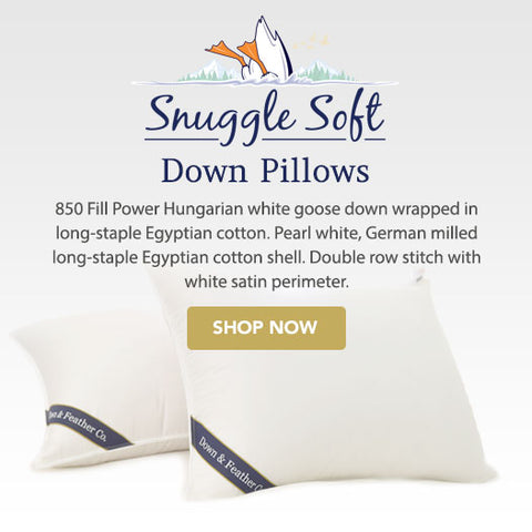 The best down pillows