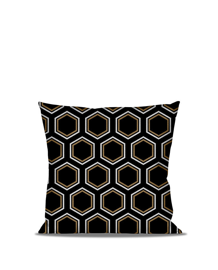 Anderton's Hexagon Accent Throw Pillow