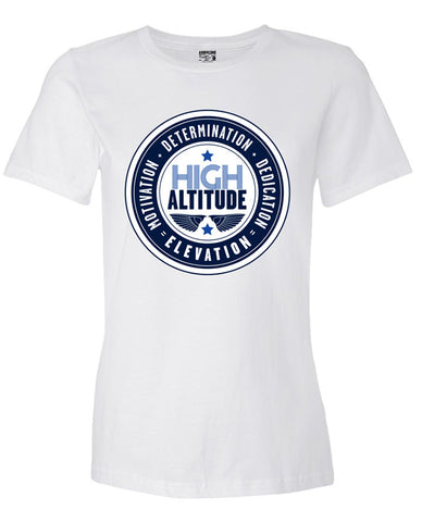 Anderton's Womens High Altitude Tee - White