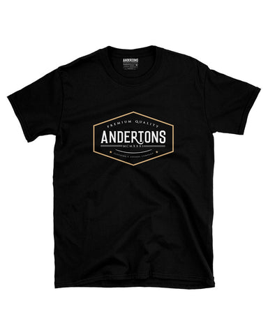 Men's Anderton's Vintage Logo T-Shirt