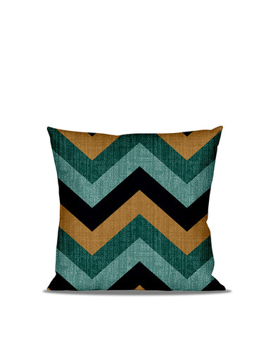 Anderton's Tri-Color Chevron Accent Pillow