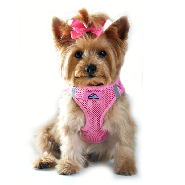 Choke Free Dog Harness in Candy Pink