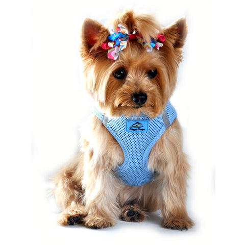 Choke Free Dog Harness in Light Blue