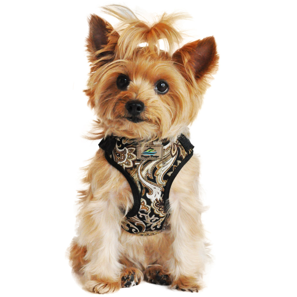Wrap and Snap Choke Free Dog Harness in Island Tan