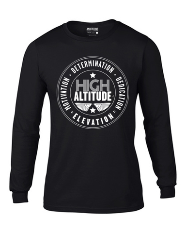 Anderton's Mens High Altitude Tee - Black