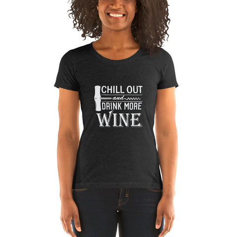 Wine Short-Sleeve T-shirt - Snug Fit
