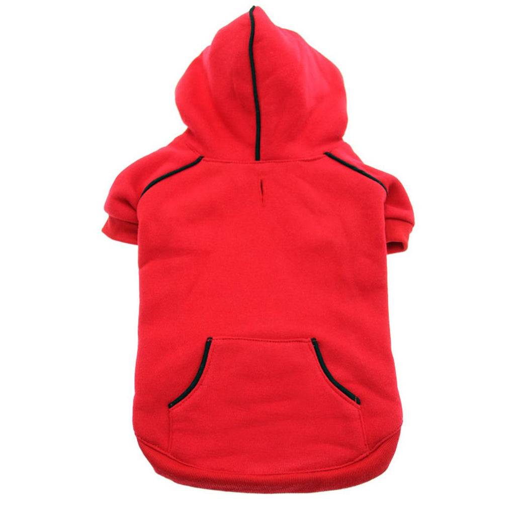 Sport Dog Hoodie - Red