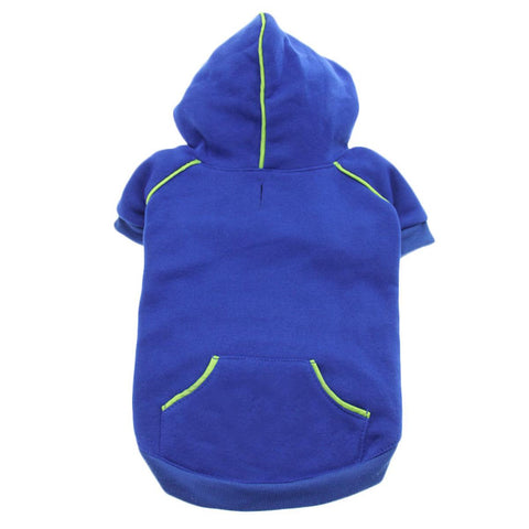 Sport Dog Hoodie - Nautical Blue