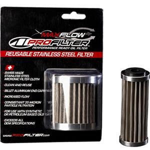 MAXIMA PROFILTER STAINLESS STEEL OIL FILTER KTM