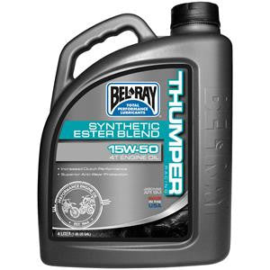 BEL RAY THUMPER RACING SYNTHETIC ESTER BLEND 4T ENGINE OIL