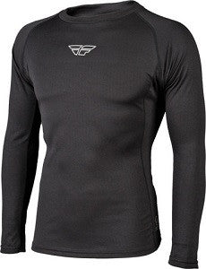FLY BASE LAYER LONG SLEEVE HEAVY TOP BLACK