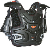 FLY ADVENTURE PRO CHEST PROTECTOR (BLACK)