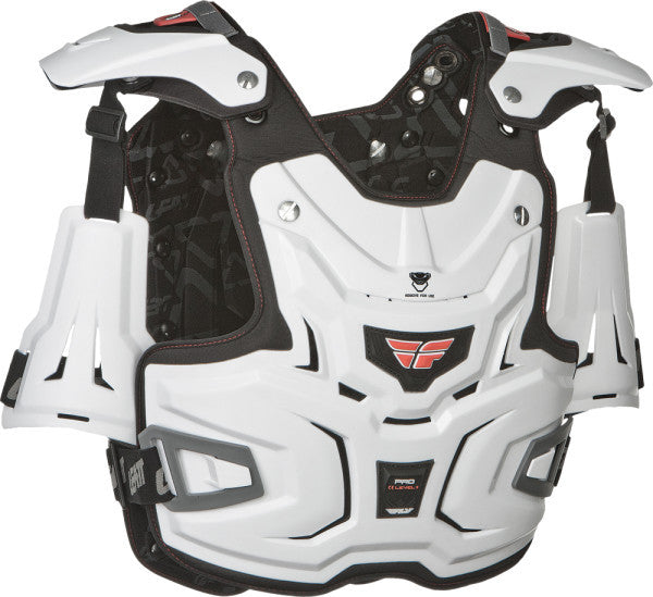 FLY ADVENTURE PRO CHEST PROTECTOR (WHITE)