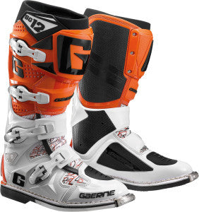 GAERNE SG-12 BOOTS WHITE/ORANGE