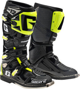 GAERNE SG-12 BLACK/ HI-VIS LIMITED EDITION BOOTS