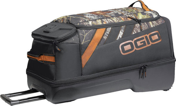 OGIO ADRENALINE WHEELED BAG MOSSY OAK 30 X17.5 X16.5