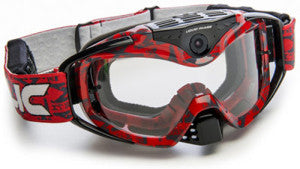 LIQUID IMAGE1080P CAMERA VIDEO GOGGLE TORQUE (RED)
