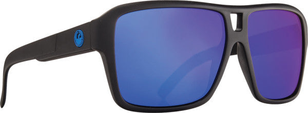 DRAGON OPTICS - THE JAM SUNGLASSES MATTE H2O W/BLUE ION LENS