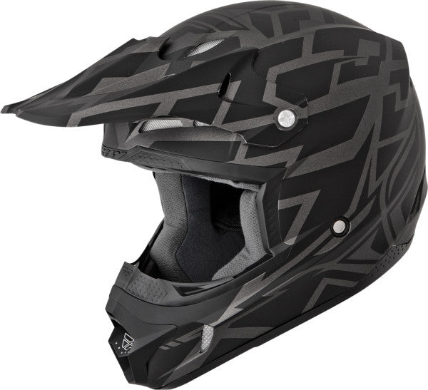 FLY KINETIC BLOCK OUT HELMET MATTE BLACK