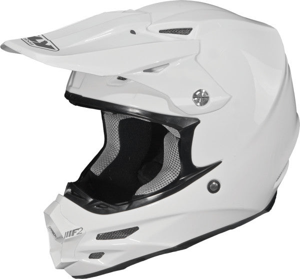 FLY F2 CARBON SOLID HELMET WHITE