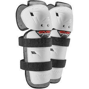 EVS OPTION KNEE/SHIN GUARD WHITE YOUTH