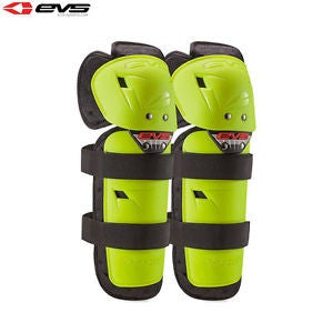 EVS OPTION KNEE/SHIN GUARD HI-VIS YOUTH