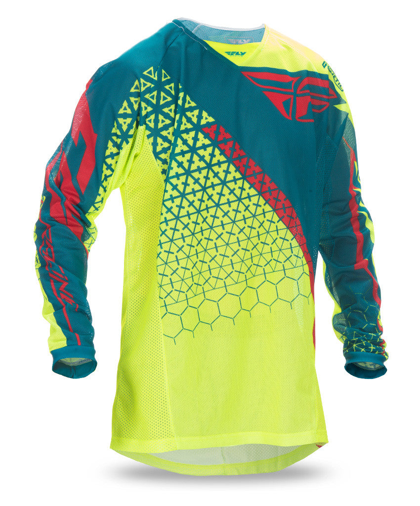 FLY 2016 KINETIC TRIFECTA MESH JERSEY