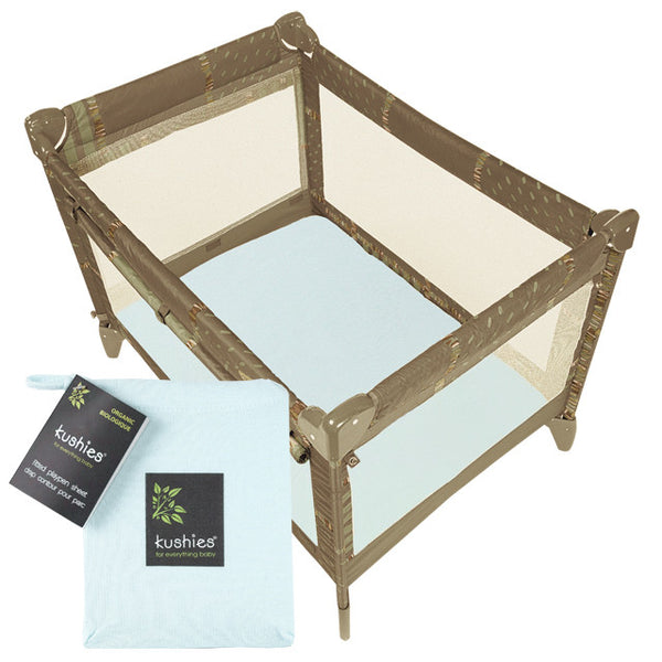 organic cotton playpen fitted sheet - see all colors
