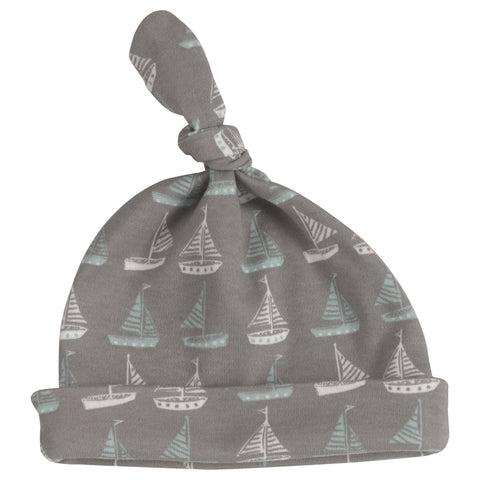 boat knotted hat
