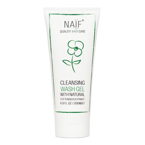 natural cleansing wash gel