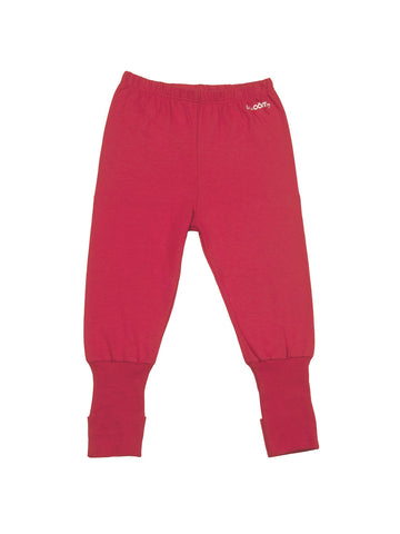 red jersey pants