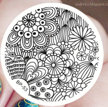 Born Pretty BP 53 Stamping Plate