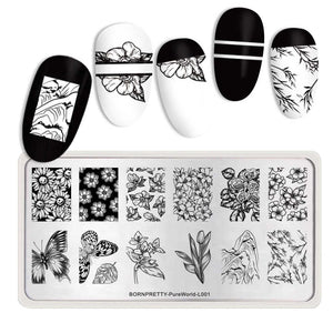 Born Pretty Pure World L001 Stamping Plate